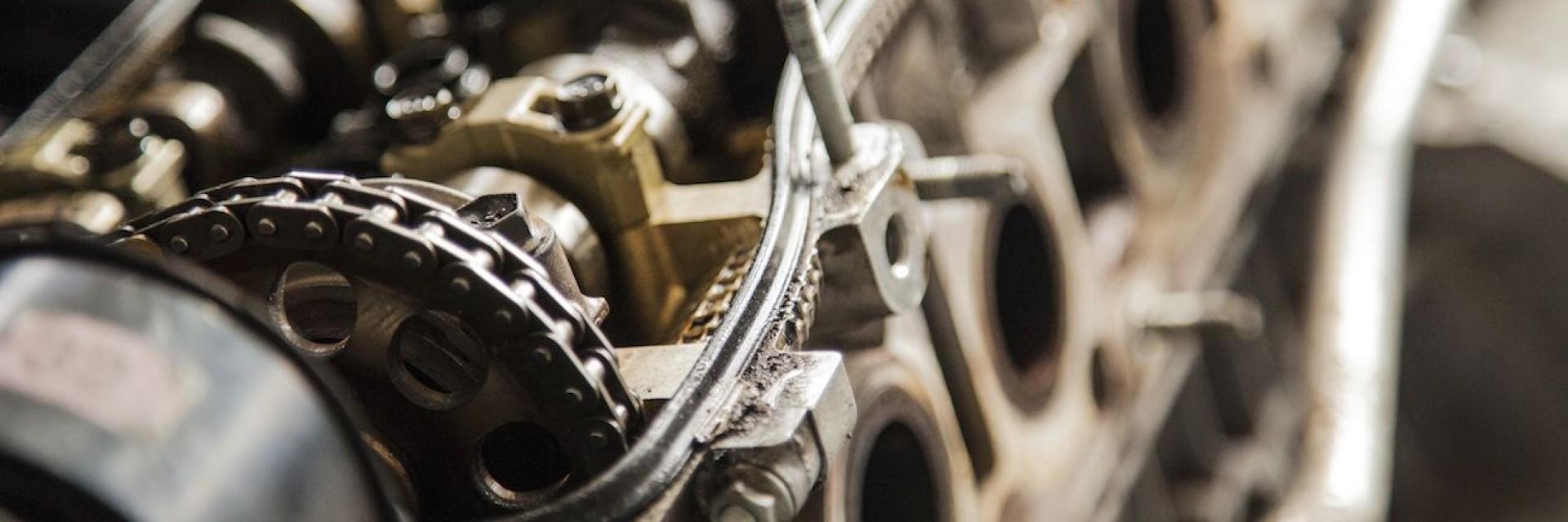 A mechanical gear as a part of an internal combustion engine