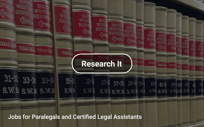 Jobs For Paralegals And Certified Legal Assistants
